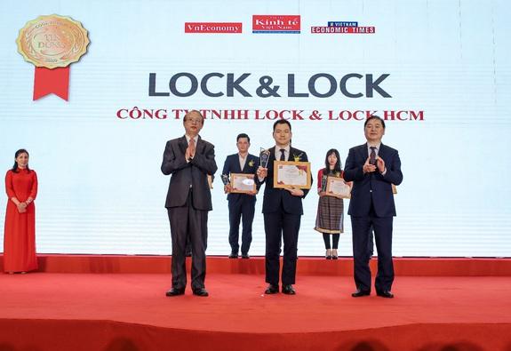 Lock&Lock được vinh danh Top 10 sản phẩm - dịch vụ Tin Dùng Việt Nam 2020